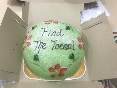 Find the Toenail? Ewww...