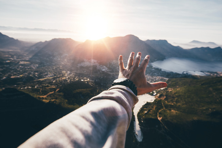 Reaching out into the new world that begins to unfold before my very eyes with just my mind using abraham hicks's law of attraction