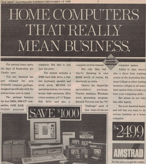 Home computers that really mean business - 19 December 1989