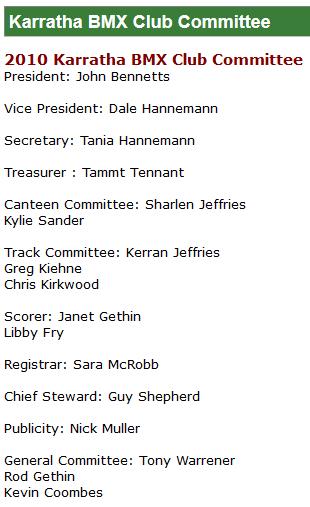 2010 Karratha BMX Club Committee.png
