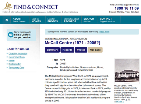 McCall Centre - Find Connect.png