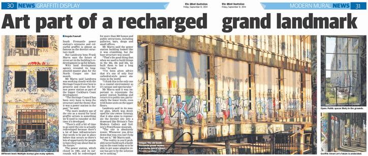 Art part of a recharged grand landmark -
