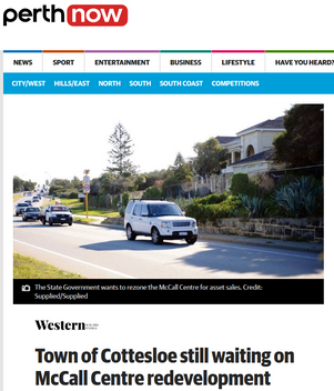 Town of Cottesloe still waiting on McCal