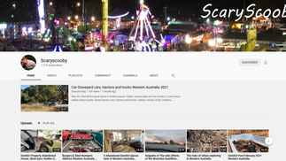 ScaryScooby on YouTube