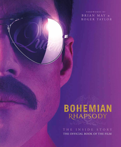 Bohemian Rhapsody movie poster about Queen, a British rock band who set out to achieve musical superstardom led by Freddie Mercury