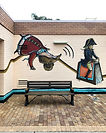 A mural by Steven Buckles at the Bayswat