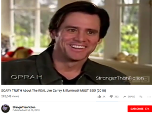 Another still from Stranger Than Fiction's YouTube video collection of Jim Carrey's interviews (since removed)