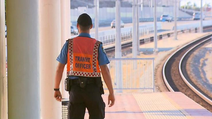 Perth Transit Guard Officer Claisebrook