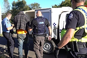 Drug raid bikie gang arrested charged wi