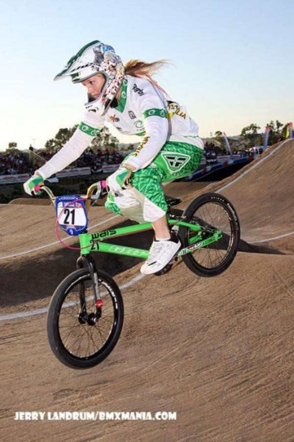Lauren Reynolds started racing BMX in Bunbury. Her career in BMX includes representing Australia in the Olympic Games London and Rio