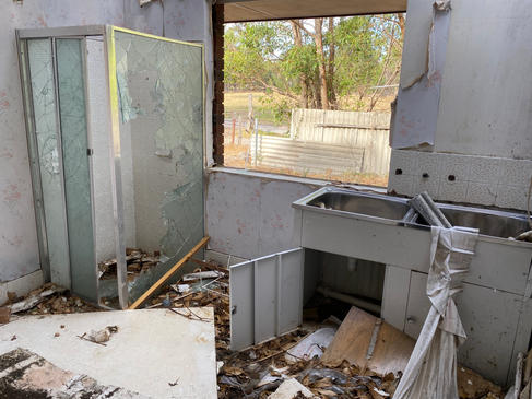 08 - Byford Trashed House