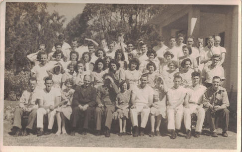 12 - A group photo which appears to be a