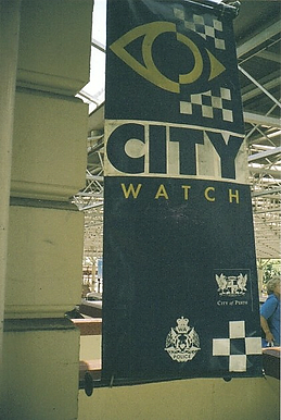 City Watch police station Perth train st