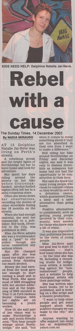 17 - The Sunday Times - 14 December 2003