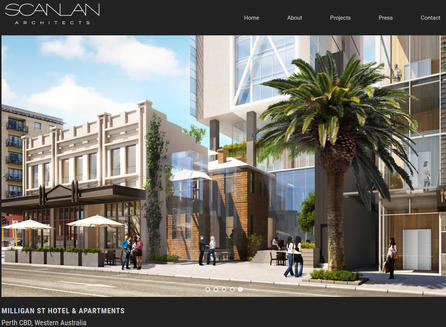 Milligan St Hotel Apartments - Scanlan Architects
