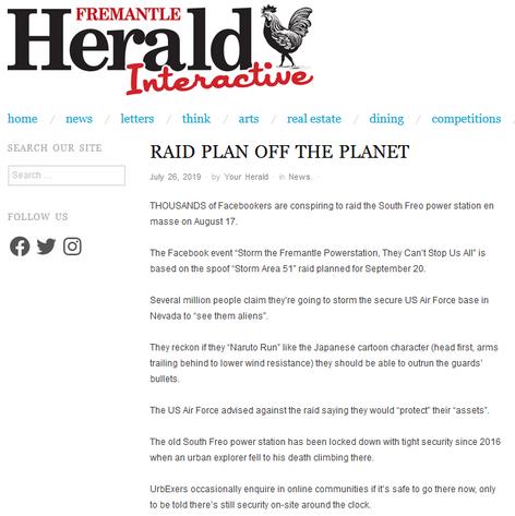 Raid plan off the planet