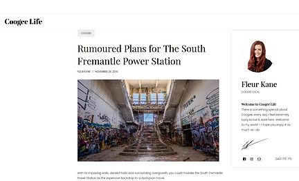 Rumoured Plans for The South Fremantle P