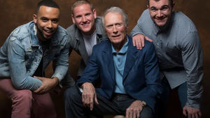 Clint Eastwood, Spencer Stone, Alek Skarlatos and Anthony Sadler filmed 15 17 Amsterdam to Paris terrorist attack El Khazzani foiled now heroes