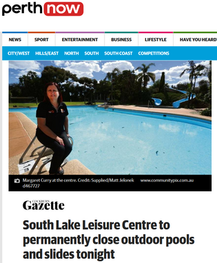 South Lake Leisure Centre to permanently close outdoor pools and slides tonight