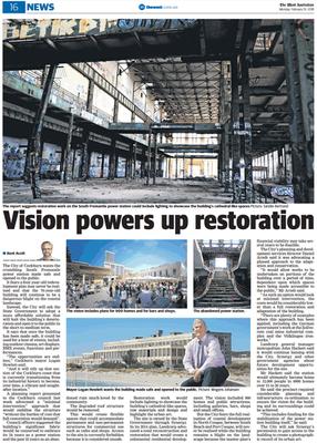 Vision powers up restoration - 19 Februa