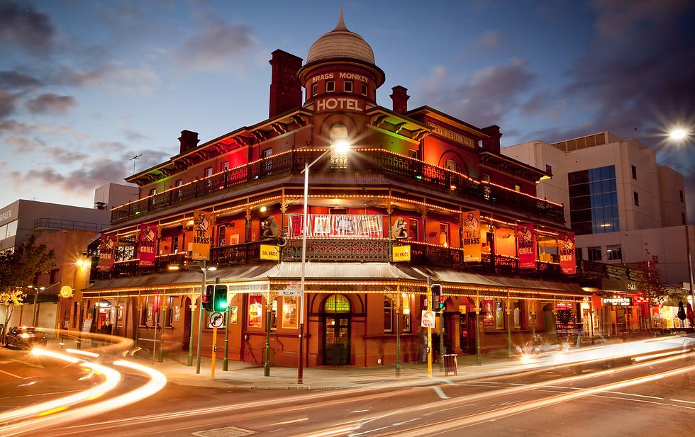 The Brass Monkey pub bar restaurant Jame