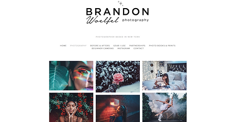 Brandon Woelfel photography New York cam