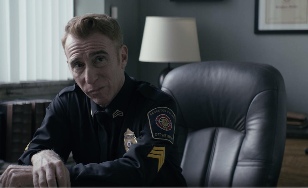 Stephen Kearin plays Sergeant Stephen Geller - the head of Brookton police department who recently beat a cancer scare and is now more forgiving by pursues Wayne