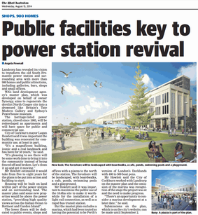 Public facilities key to power station r