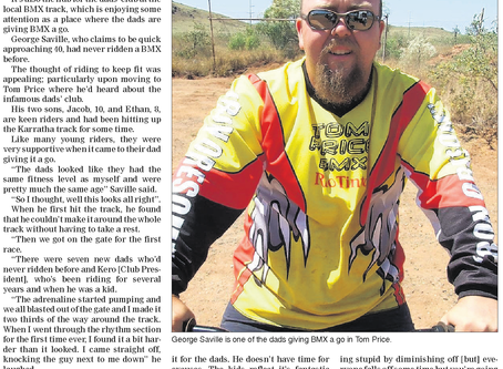 Bikes are 'goers' for Dads - Pilbara News