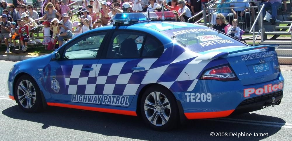 Western Australia Police Service highway patrol traffic vehicle 'Drop 5' road safety traffic crash camera infringements demerit points risk driving
