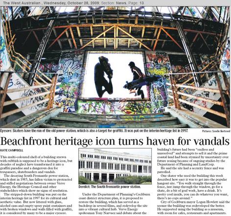 Beachfront heritage icon turns haven