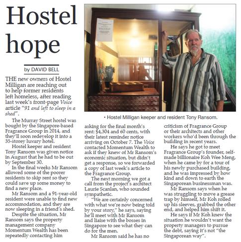 Hostel Hope - 12 October 2019