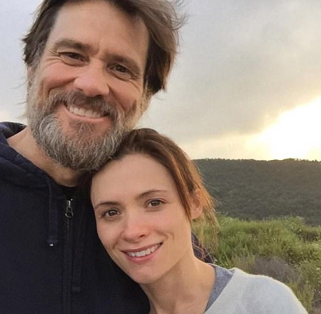 Jim Carrey and Cathriona White, a make-up artist from Ireland who was found dead in her Los Angeles home in September 2015