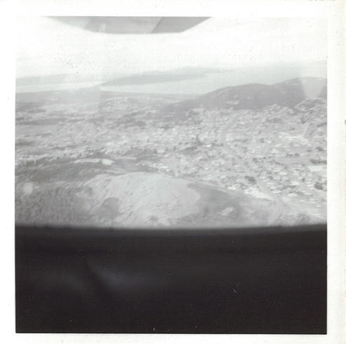 07 - A view from an airplane