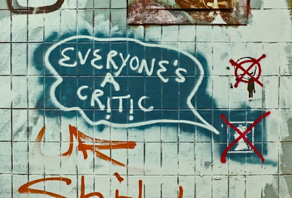 Everyone's a critic waste their energy cutting you down instead of improving their own lives ignore other people's opinion and live your life the way you want to achieve your dreams of success