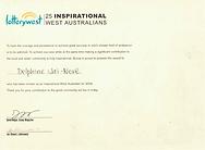 Lotterywest 25 Inspirational West Austra