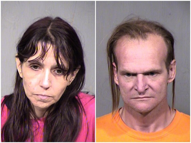 Phoenix couple Melessa Martinez and Roy Johnston charged with bestiality video of wife having sexual relations with a dog