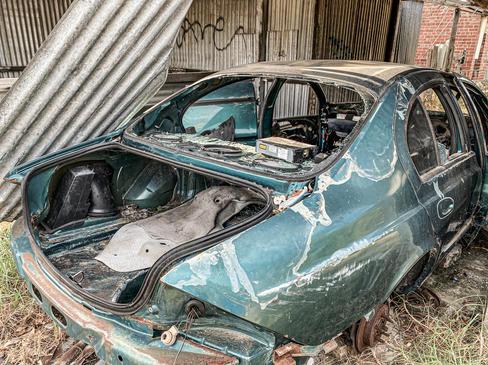 02 - Byford Abandoned Sheds