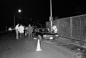 29 July 1976 Donna Lauria Jody Valenti randomly shot dead in their car with Charters arms 44 Bulldog handgun by Son of Sam David Berkowitz