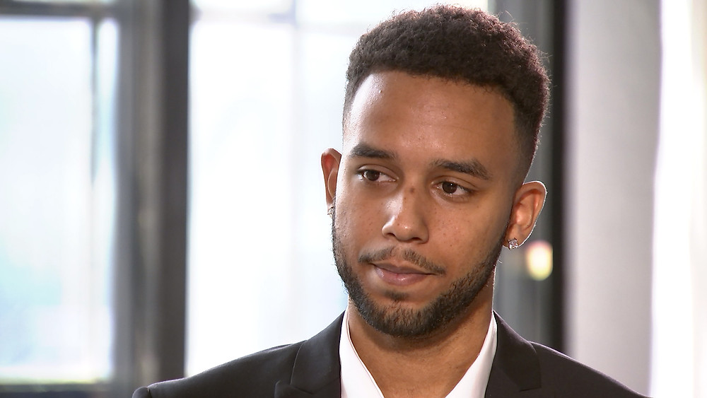 Anthony Sadler kinesiology student University of California Amercian French television personality thwarted gunman gained international recognition Thalys train to Paris