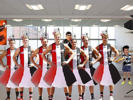 The St Kilda Football Club Prank