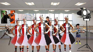 The St Kilda Football Club Prank for one of my bosses, nicknamed the Saints, an Australian Rules Football in Melbourne, Victoria