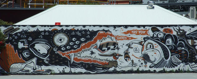 Fish & Chips by Yok and Sheryo on Cantonment Street in Fremantle - 01 December 2013