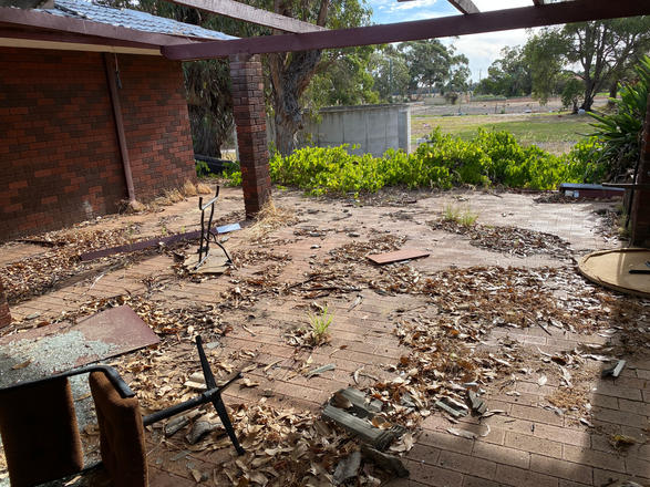 10 - Byford Trashed House