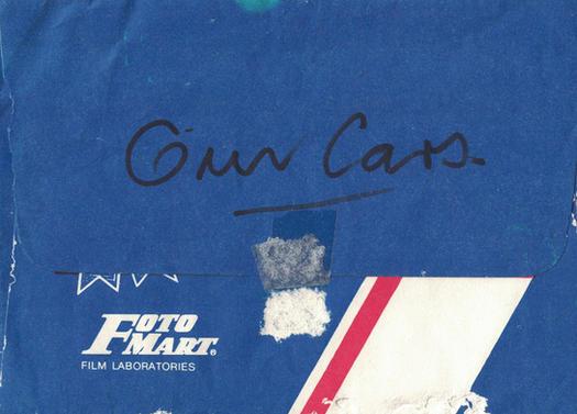 02 - Gun Cars Photo Envelope - Foto Mart