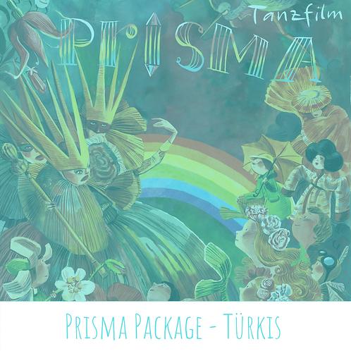 Prisma Package - Türkis (Plakat Querformat)