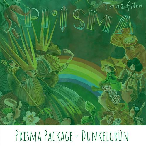 Prisma Package - Dunkelgrün (Plakat Hochformat)