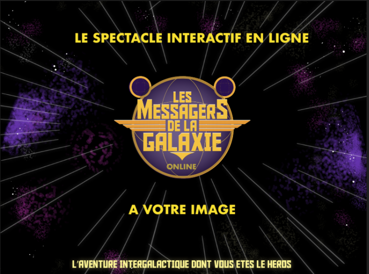 LE SPECTACLE INTERACTIF