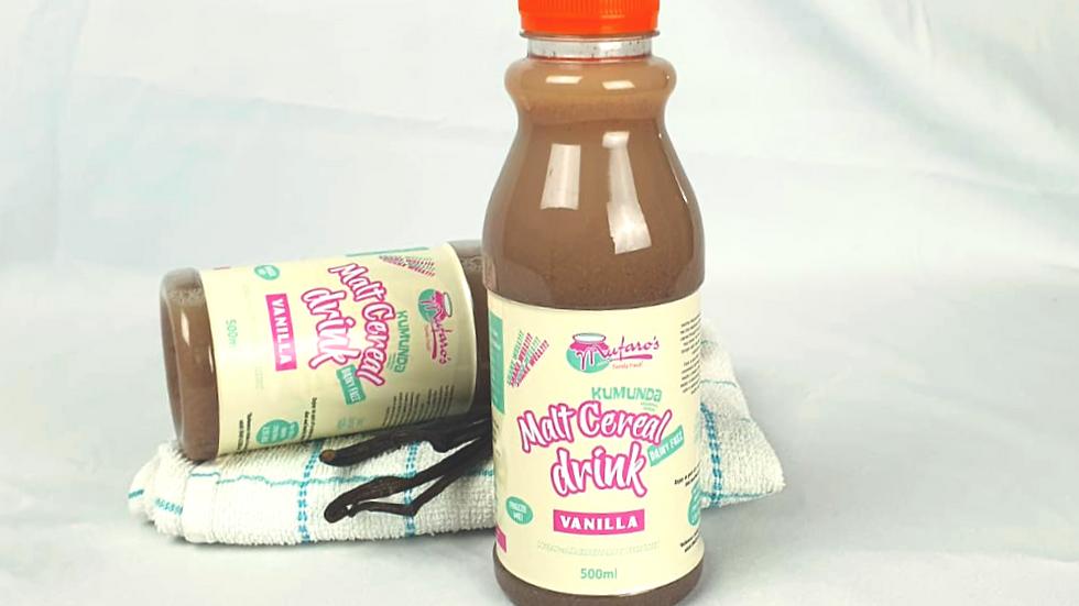 Kumunda Vanilla Malt Drink 500g (Dairy-free)