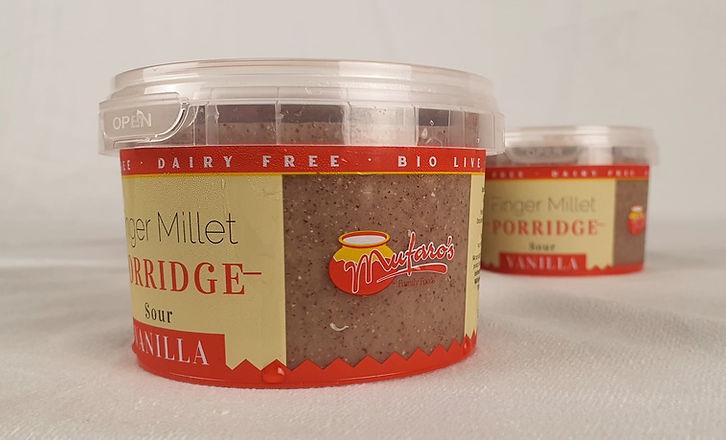 Finger Millet Porridge - Porridge re Zviyo - fermented porridge